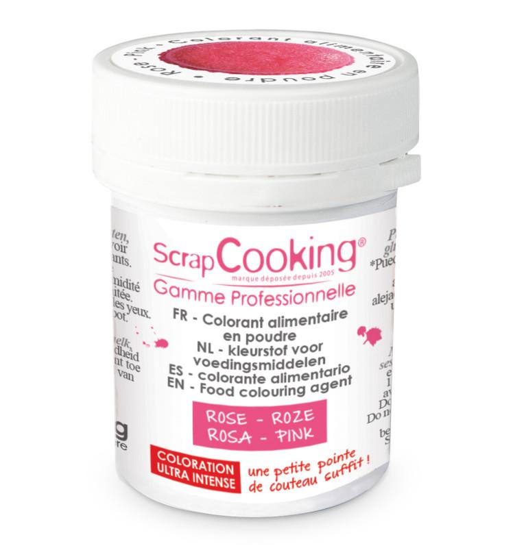 Colorant alimentaire en poudre rose 5g
