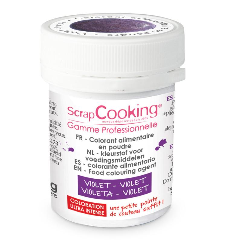Colorant alimentaire en poudre violet 5 gr