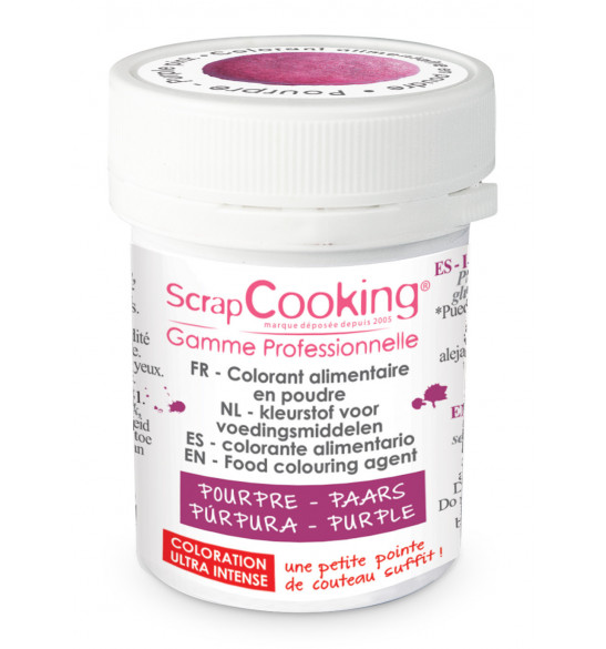 Purple powdered artificial food colouring 5g