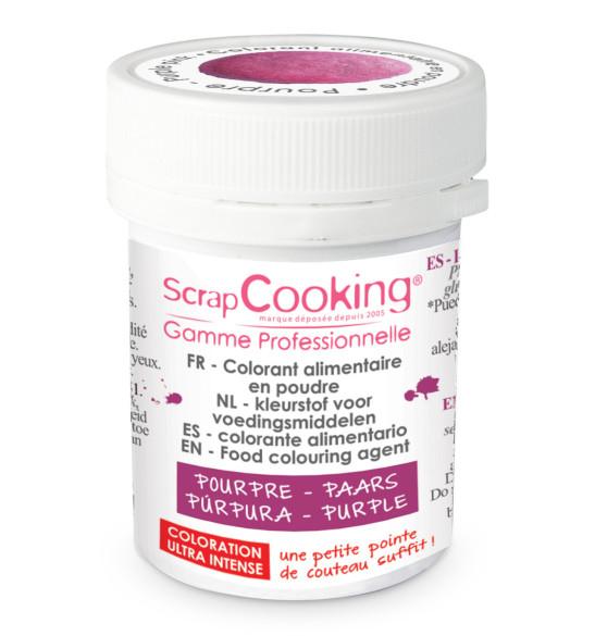 Colorant alimentaire en poudre pourpre 5 gr