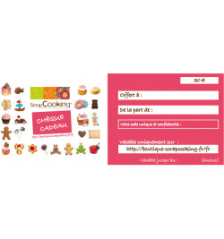 Chèque Cadeau de 30€ réf. WEB-CHKDO