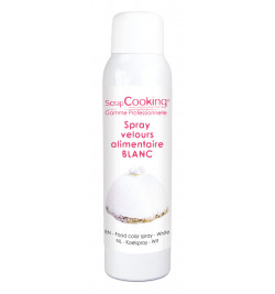 Spray velours blanc 150 ml