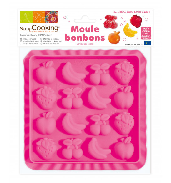 Fruit sweets silicone mould
