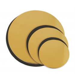 Set of 6 thin cake boards...