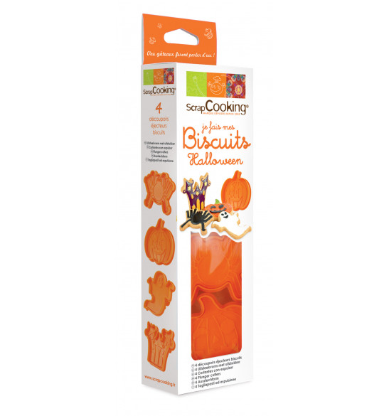 Kit je fais mes biscuits Halloween