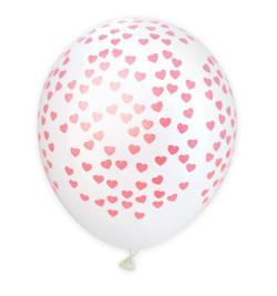 6 ballons coeurs réf.0333