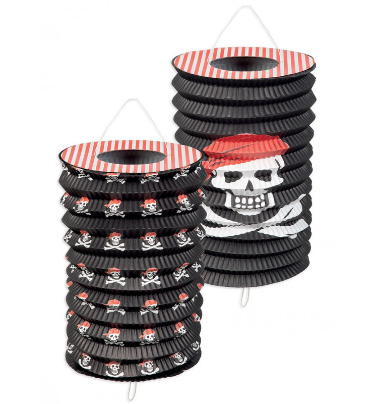 "2 lampions ""pirate"""