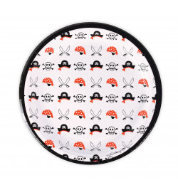 8 Pirate paper party plates...