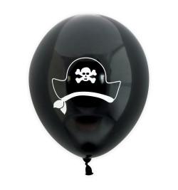 6 ballons pirate Ø 25 cm réf.0334