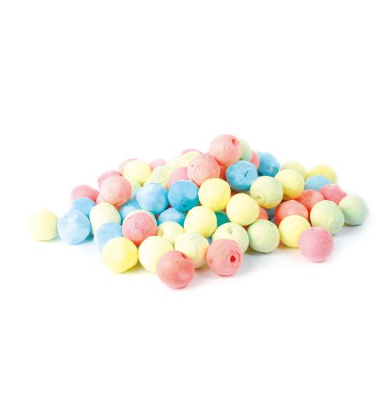 """80  boules de sarbacane """"pastel"""""""
