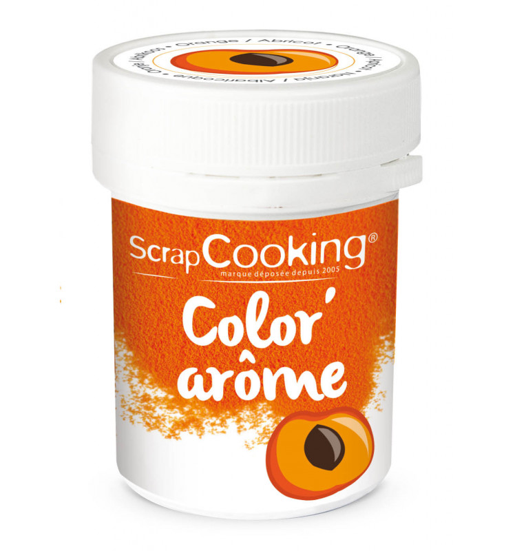 Color'arôme orange / abricot 10 gr