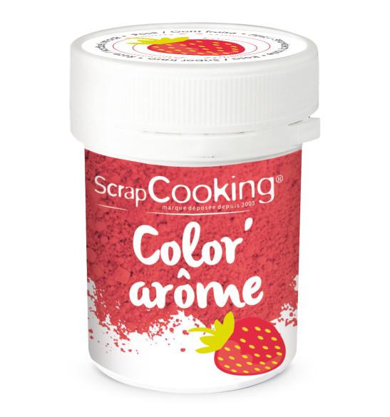 Color'arôme rose / fraise 10g