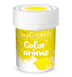 Color'arôme jaune / citron 10 gr réf.4057