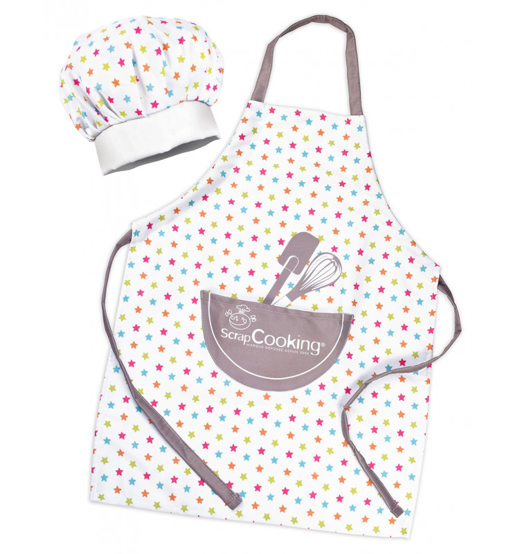 Set tablier + toque enfant ScrapCooking®