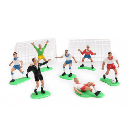"9 ""football"" cake decorations"
