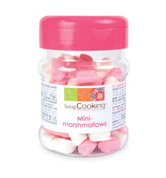 Pot de mini-marshmallows