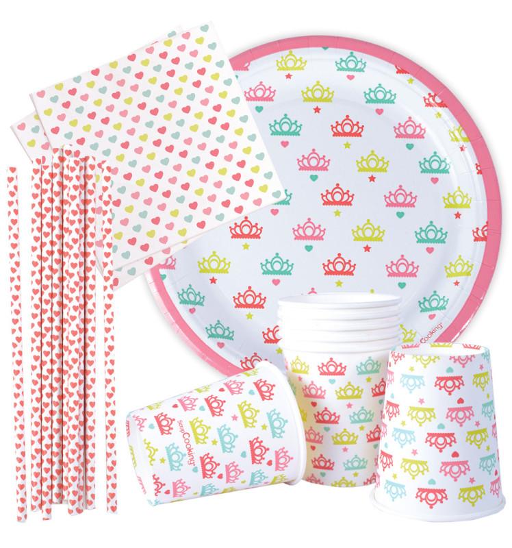 Kit vaisselle Princesse Party