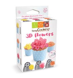 Kit douilles russes 3D flowers