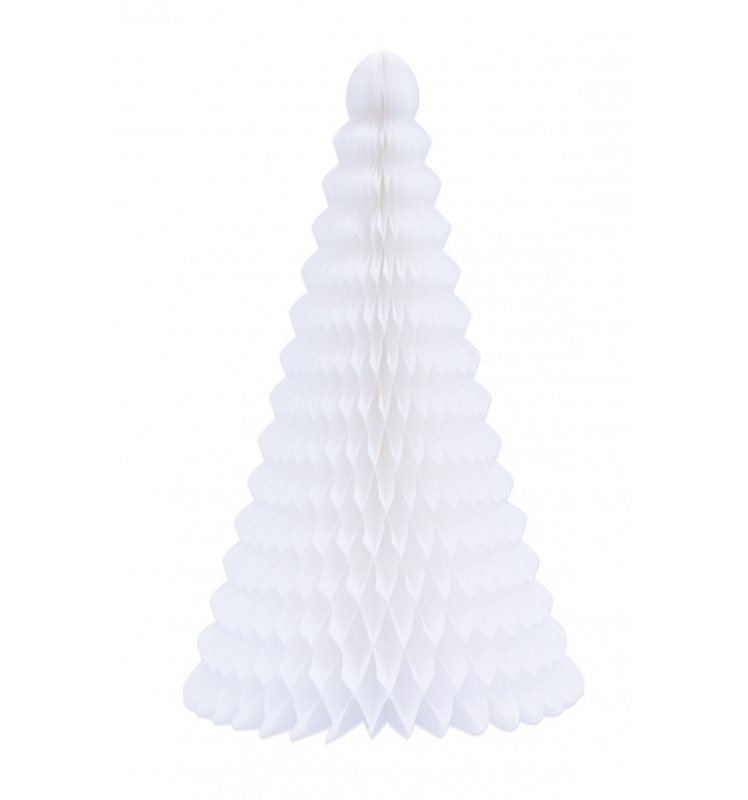 "Sapin alvéolé ""blanc"" 25 cm"