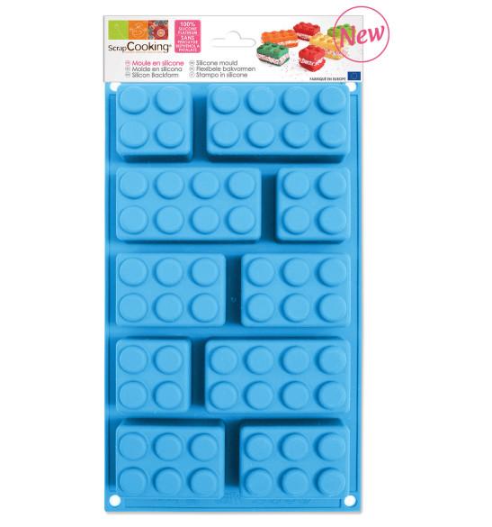 Moule à gâteaux silicone briques