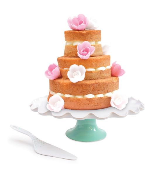 Présentoir + pelle à tarte et gâteau