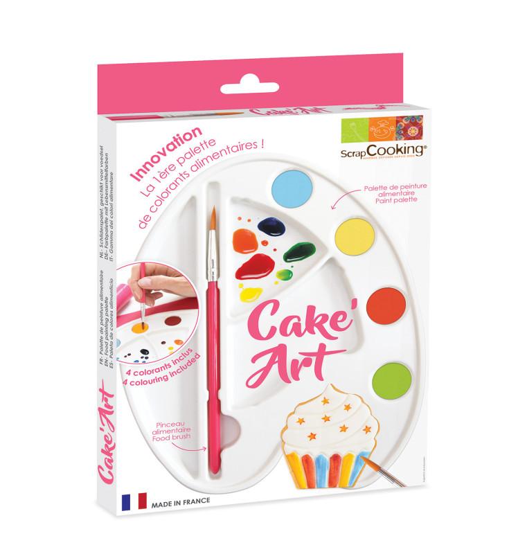 """Palette de peinture alimentaire """"Cake Art"""""""