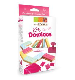Kit Dominos pour biscuits et pâte à sucre 2038
