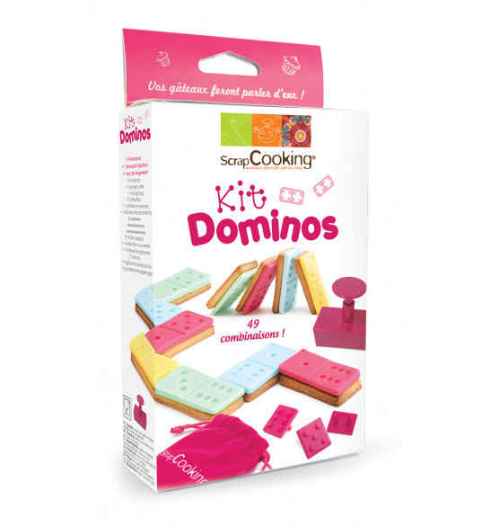 Kit Dominos pour biscuits et pâte à sucre