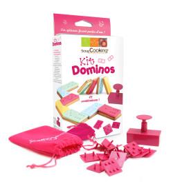 Détail Kit dominos pour biscuits et pâte à sucre