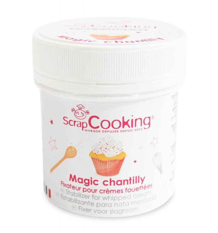 Pot de magic chantilly