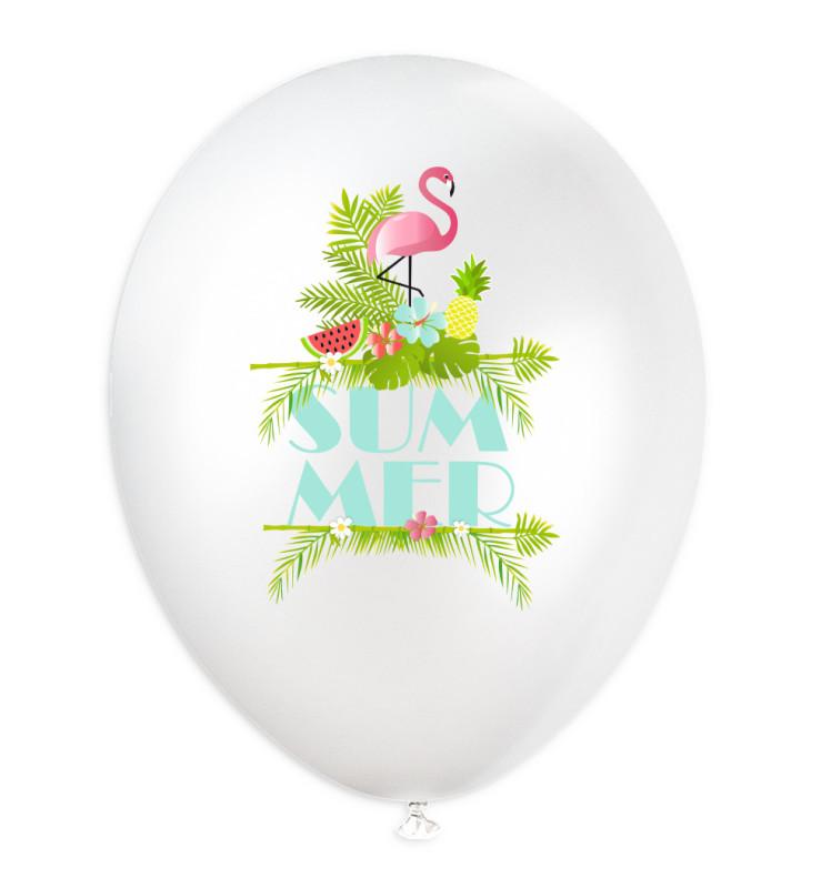 """6 ballons  """"summer"""" Ø 28 cm"""