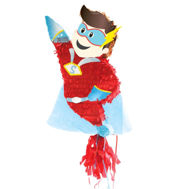 Piñata super héros