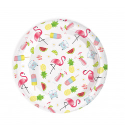 8 Summer paper party plates
