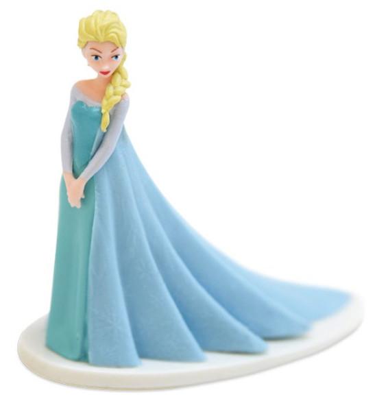 """Décor gâteau """"Reine des neiges"""" Elsa"""