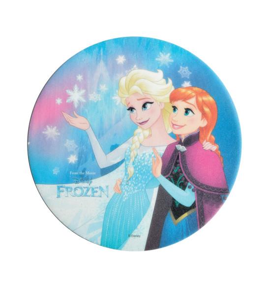 """Disque azyme """"Reine des neiges"""" Elsa et Anna"""
