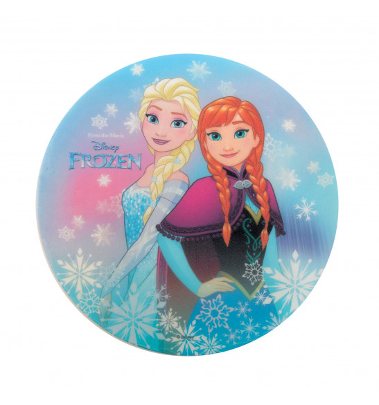 """Disque azyme """"Reine des neiges"""" Anna et Elsa"""