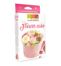Kit Flower cake