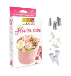 Détail Kit flower cake réf.3943