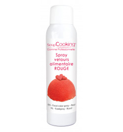 Spray velours rouge 150 ml