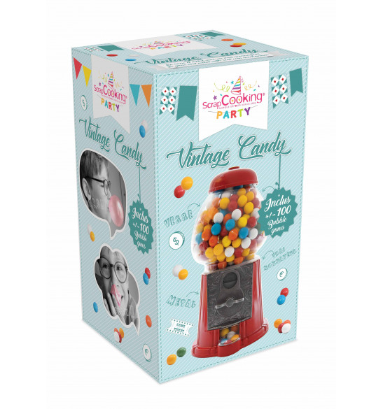 Distributeur de bonbons Vintage Candy