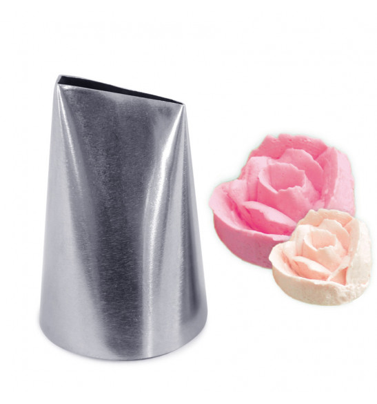 Stainless steel large petal piping tip