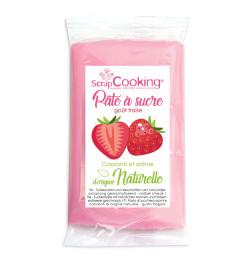 Pâte à sucre rose goût...