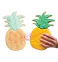 XXL stainless steel Pineapple cookie cutter mould