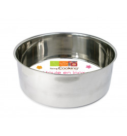 Stainless steel cake tin Ø...