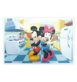 Rectangle azyme Mickey & Minnie réf.1236MM