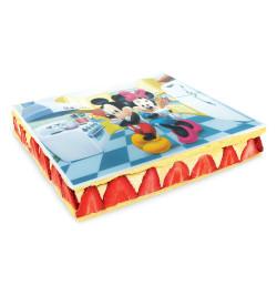 Ambiance gâteau avec rectangle azyme Mickey & Minnie réf.1236MM