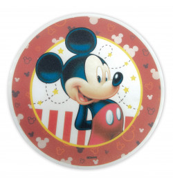Mickey edible wafer disc Ø...