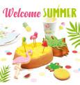 Mini bougie flamant rose / pastèque / ananas