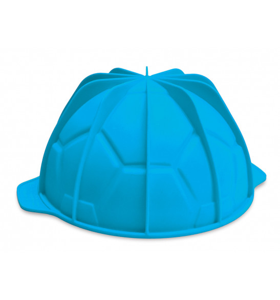Moule à gâteau silicone ballon de foot Ø19 cm