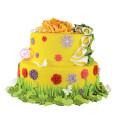 Pâte à sucre rouleau jaune 36 cm